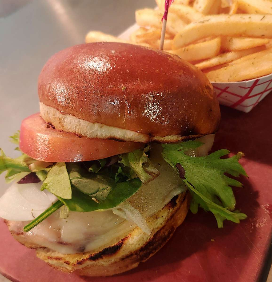 Fresh made to order Burgers and Sandwiches