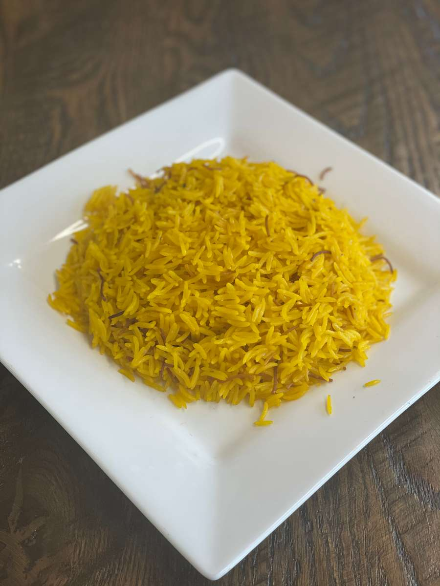 Yellow Rice Plate