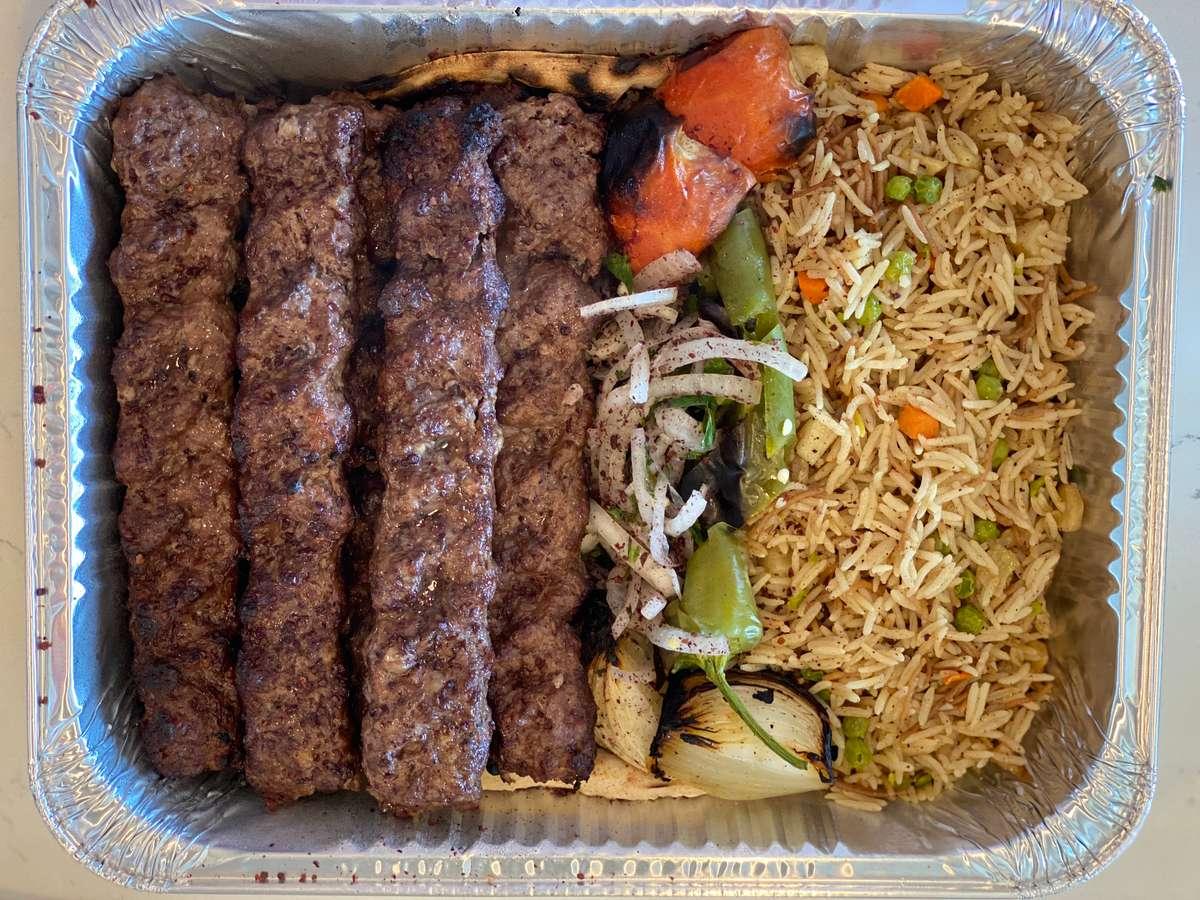 Kofta Kebab Tray