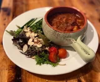 Goulash Soup & Salad