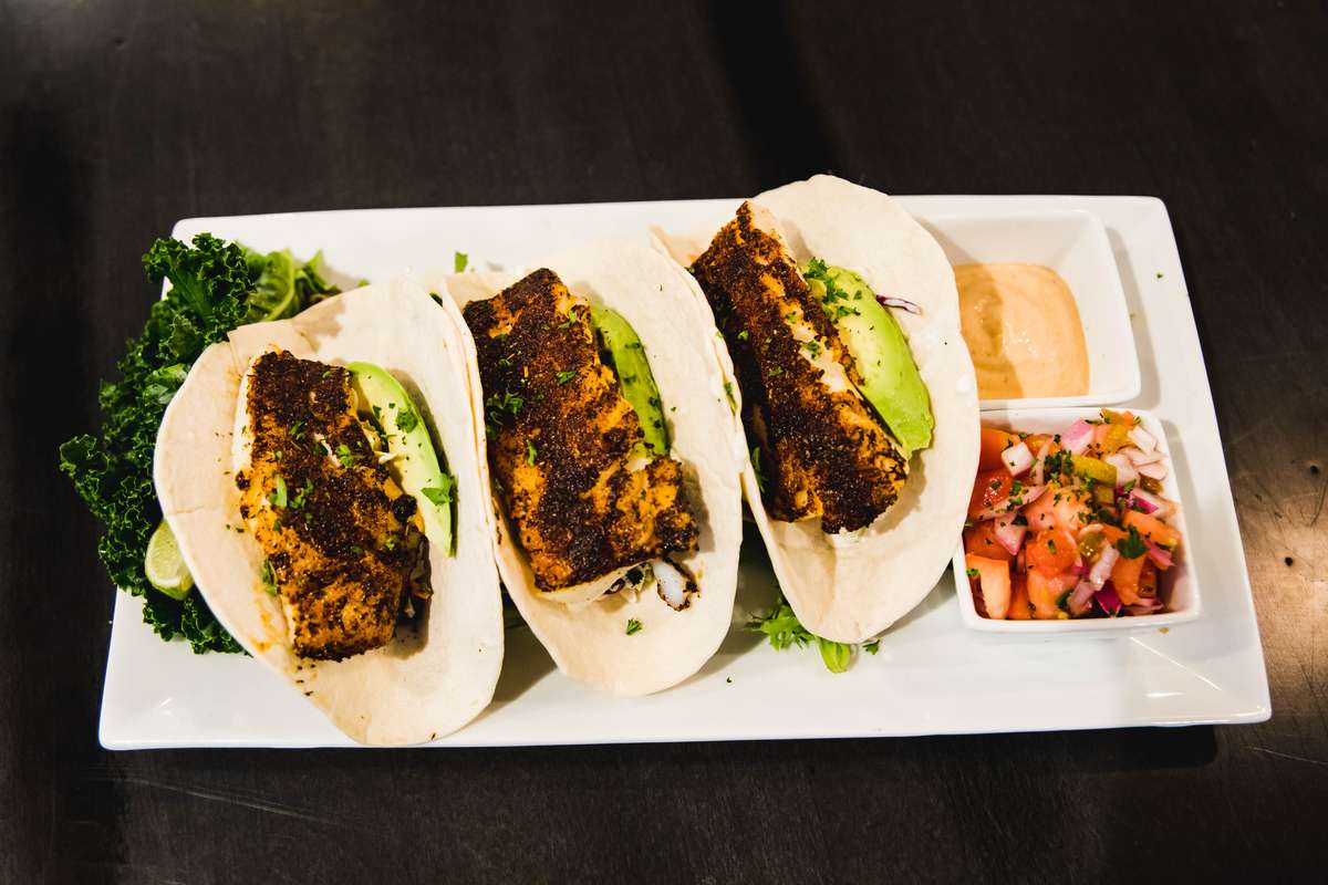 Blackened or Fried Haddock Tacos