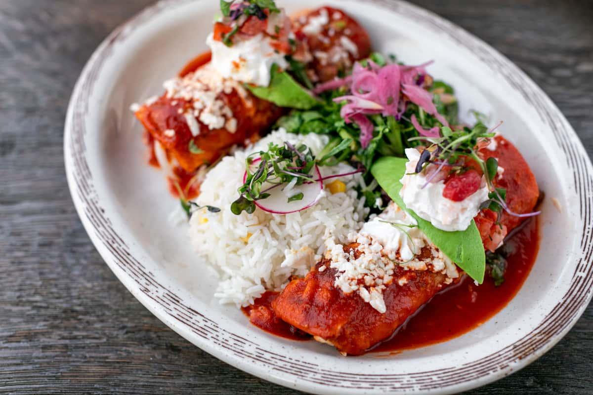 Enchiladas De Marisco