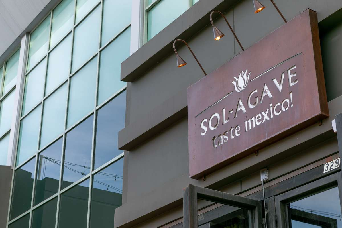 Sol Agave Sign