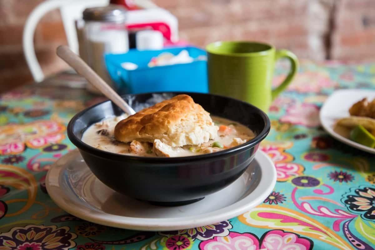 chicken biscuit bowl