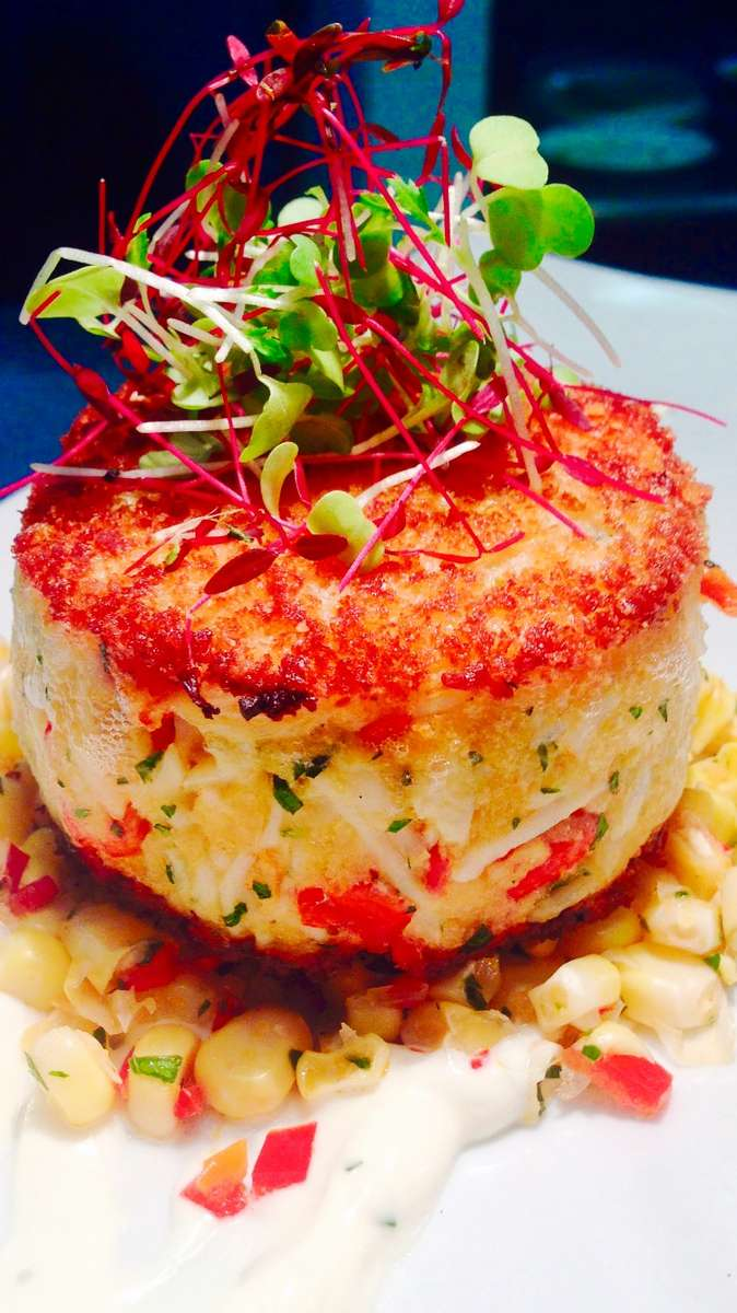 Alaskan King Crab Cake