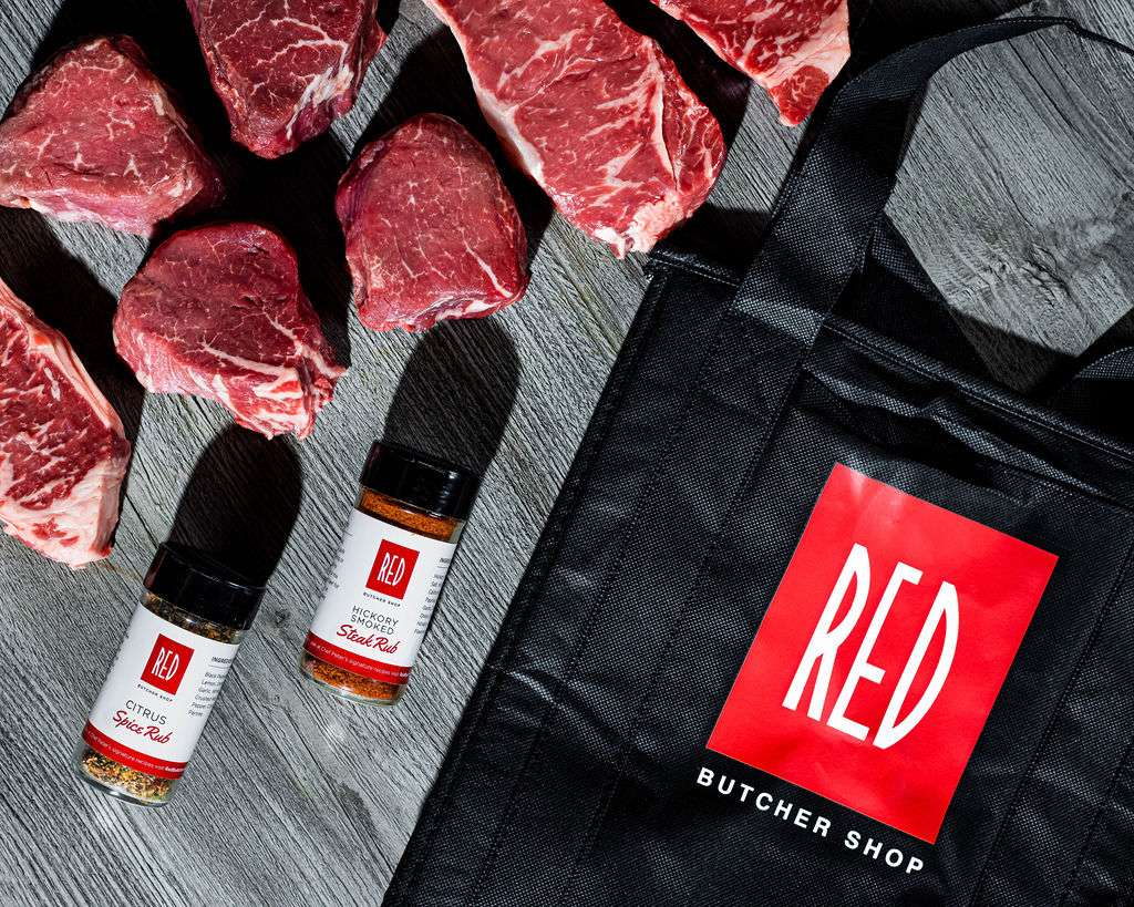 spices and steaks