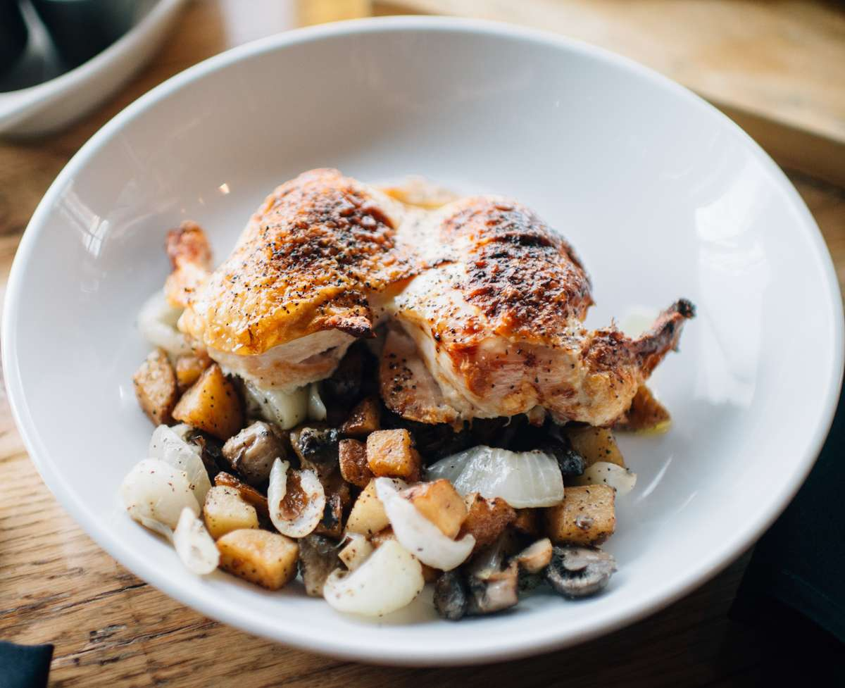 Stuffed Roasted Chicken