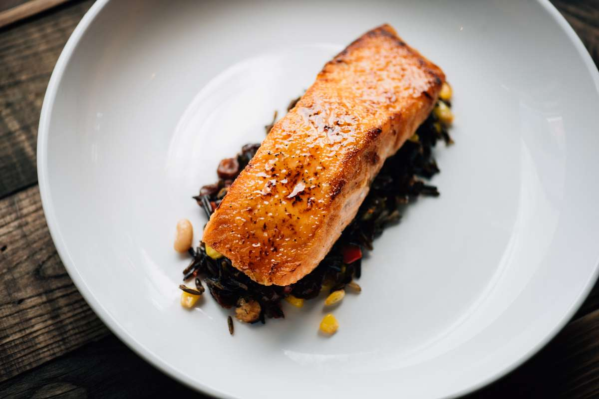 Honey Miso Salmon