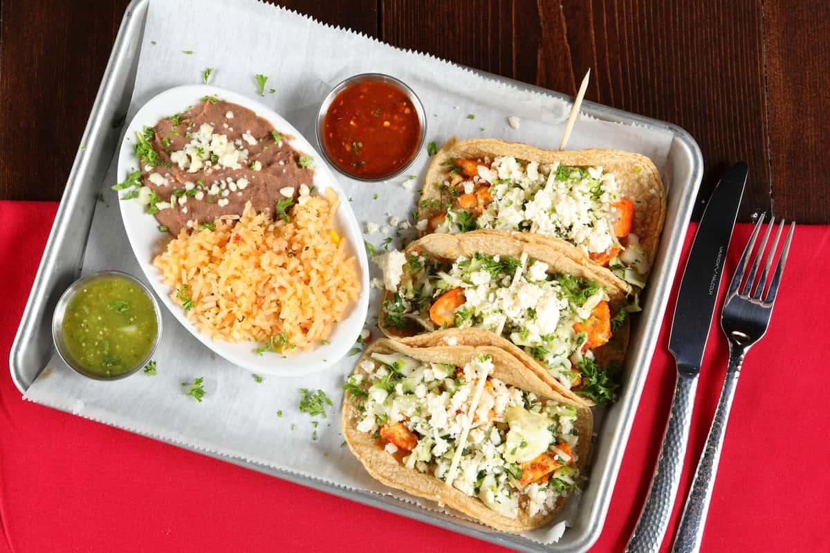 Vegetarian and Vegan Tacos