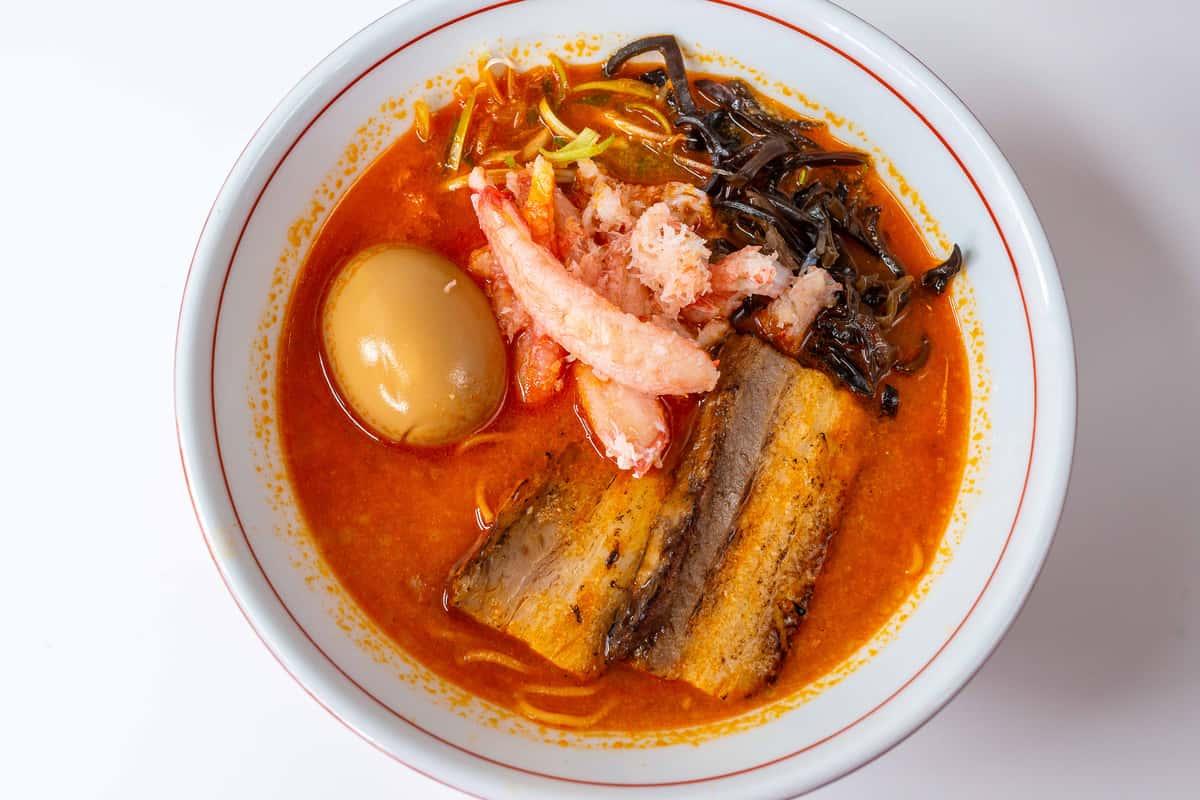 Miso Crab Ramen