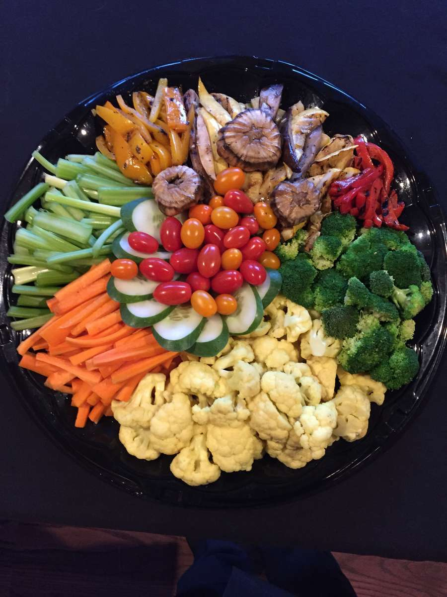 Crudite with Assorted Dips