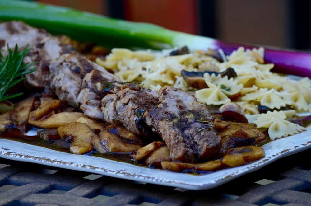 Garlic & Rosemary Roasted Pork Loin