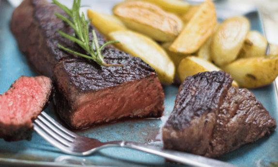 Grilled Steak (to reheat)