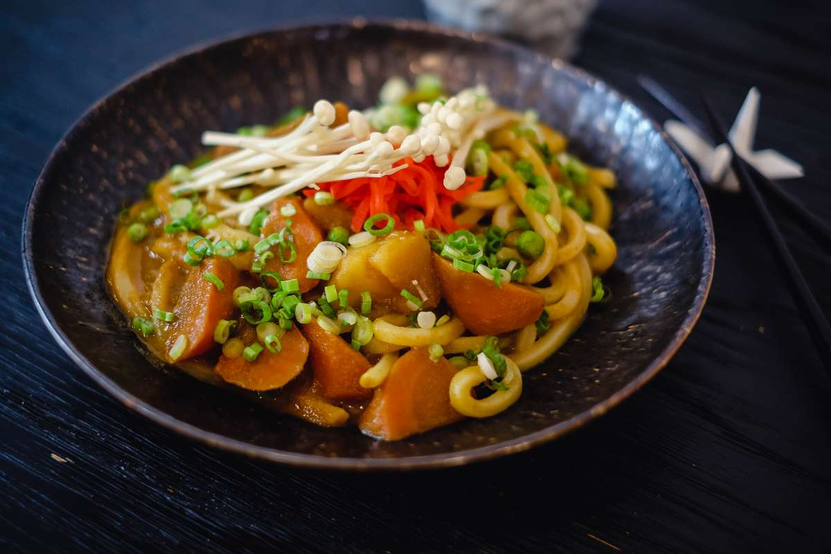Veggies Curry Udon
