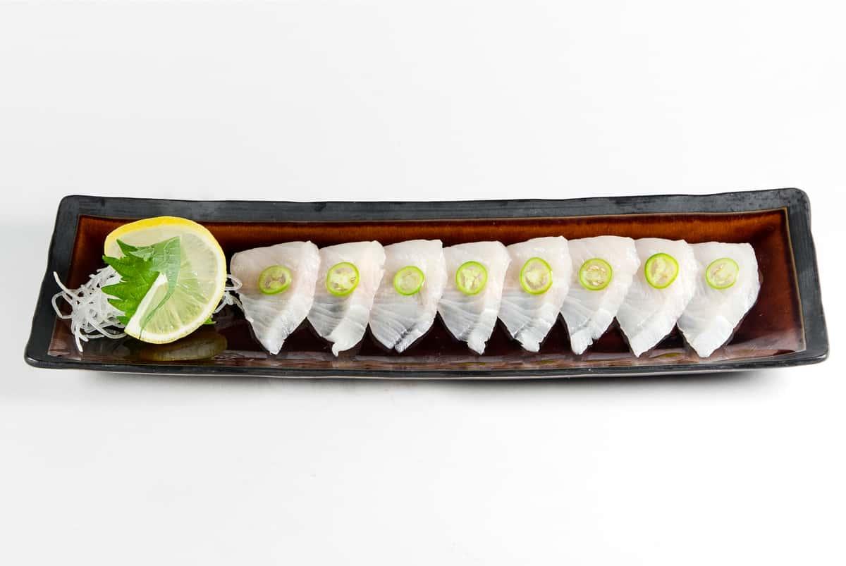 Hamachi Serrano Pepper