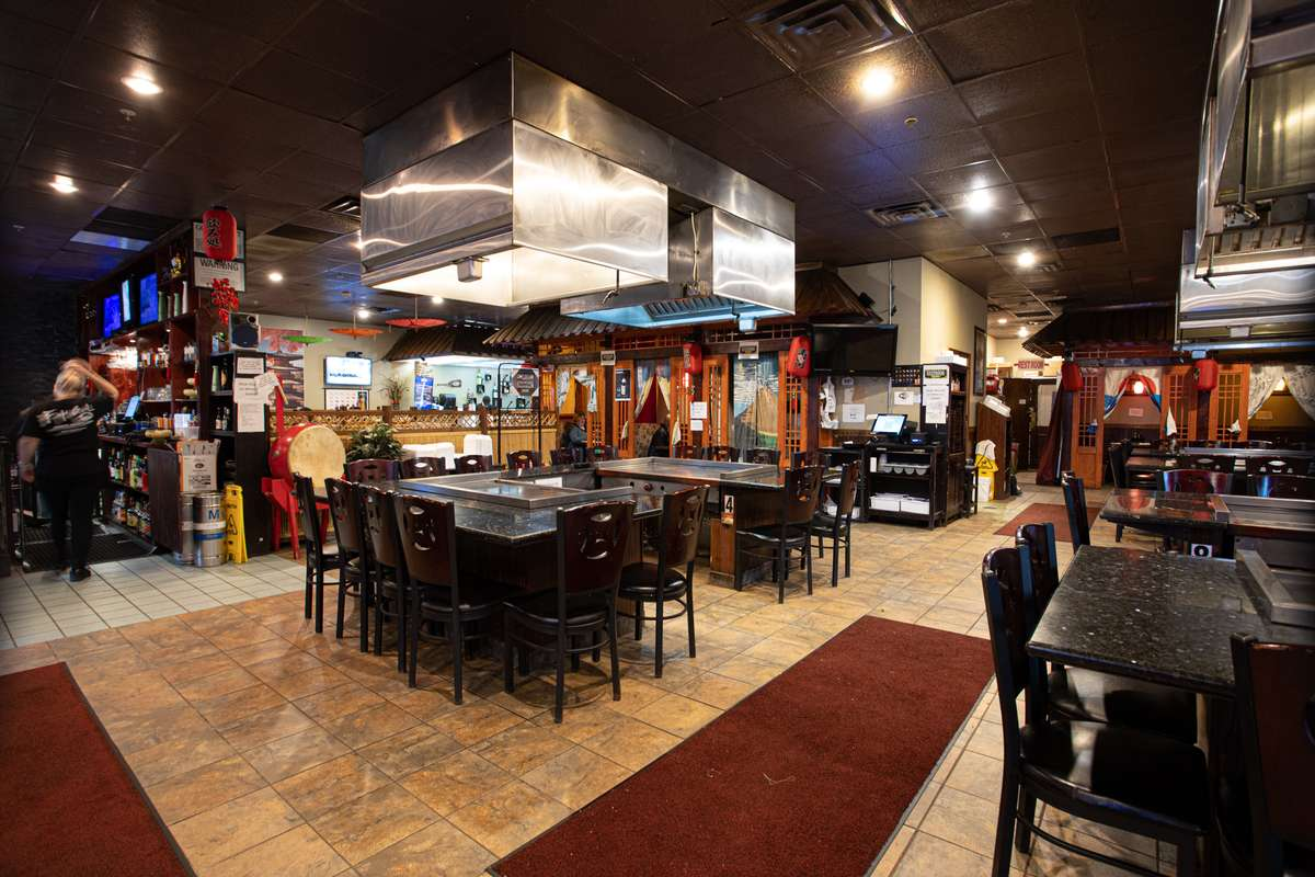 Interior dining at Fuji Grill