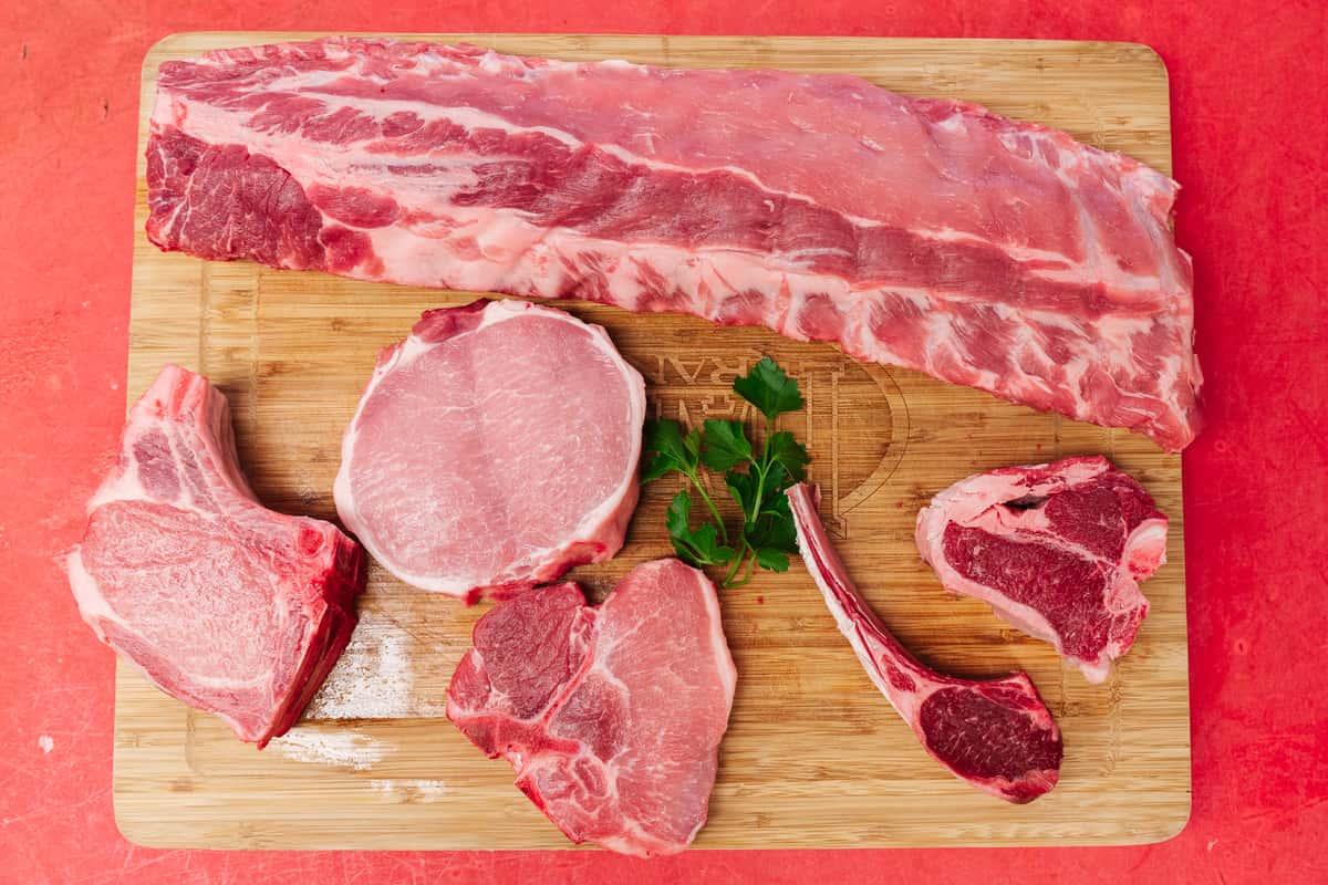 Butterflied Pork Chops