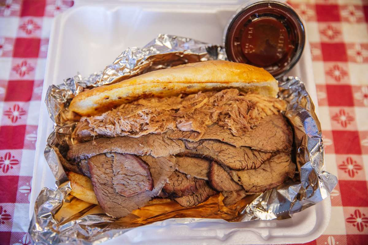 50-50 Sandwich $14