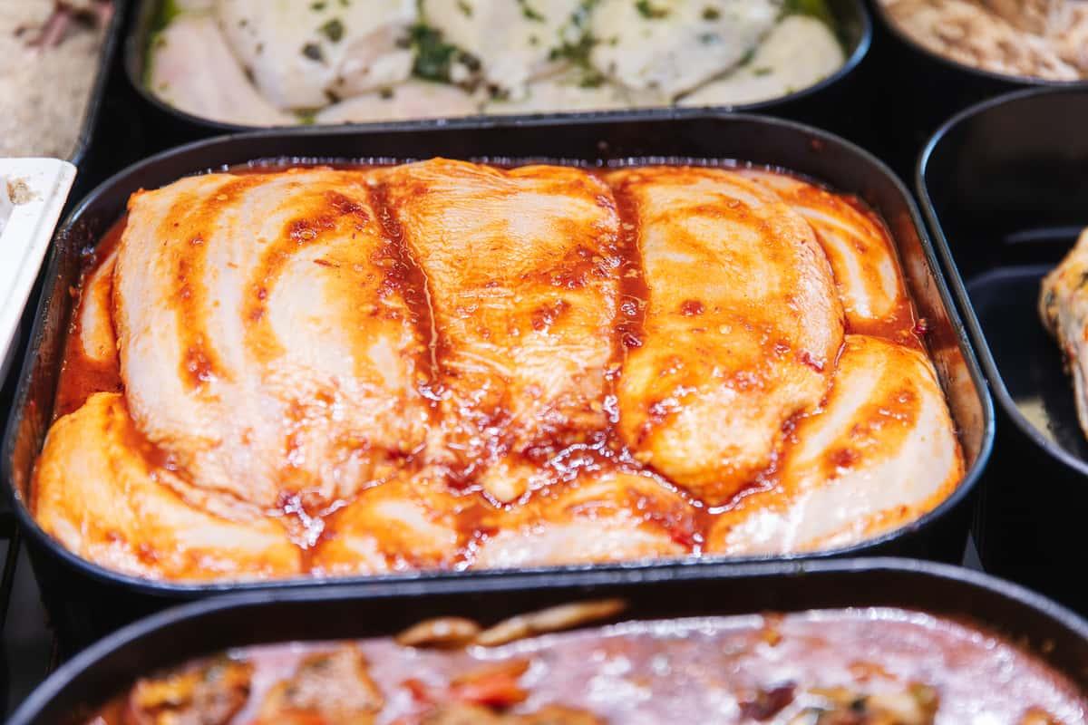 Sweet Chili Garlic Marinated Chicken