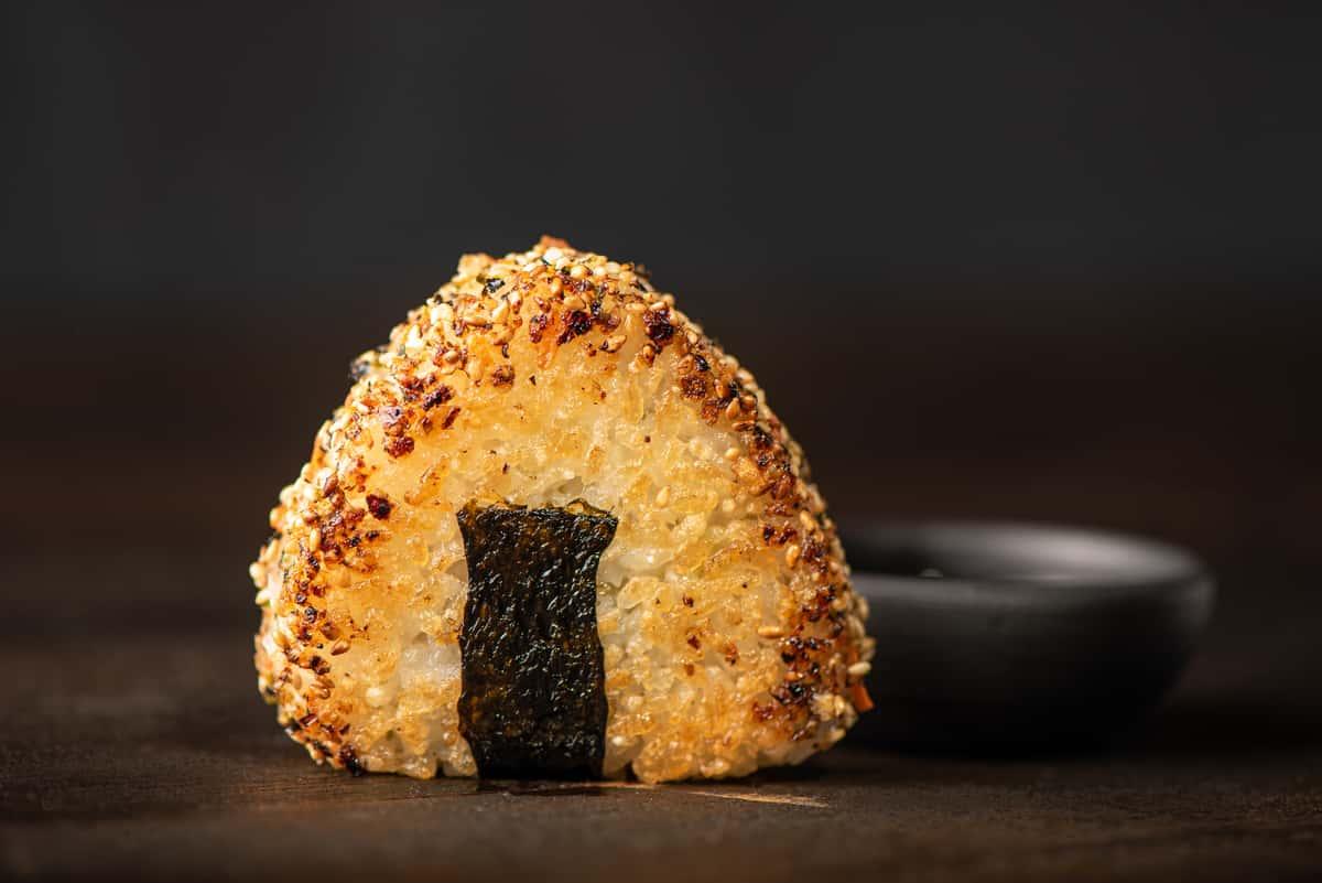 Truffle Avocado Onigiri