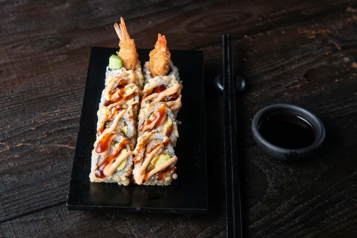 Shrimp Crunch Roll