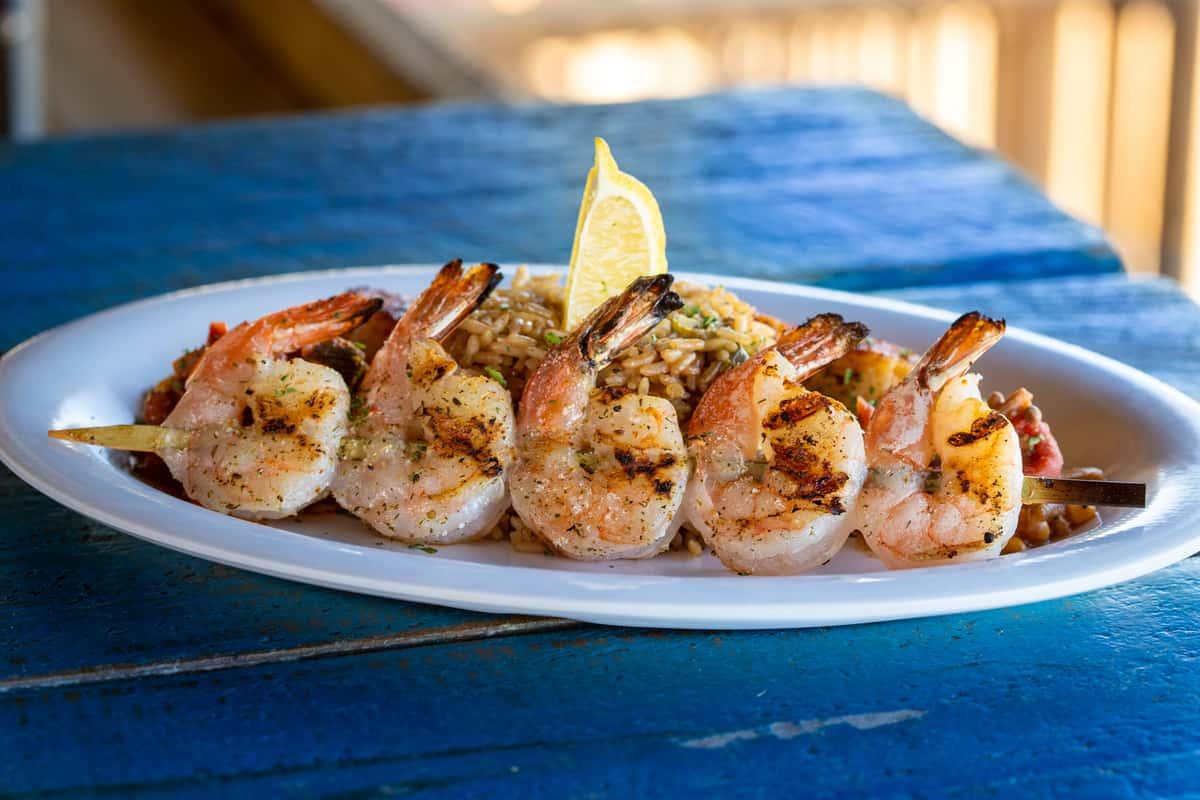 Charleston Shrimp Platter