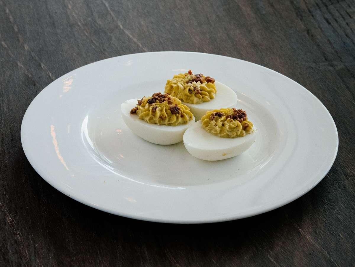 Bacon Jalapeno Devilled Eggs