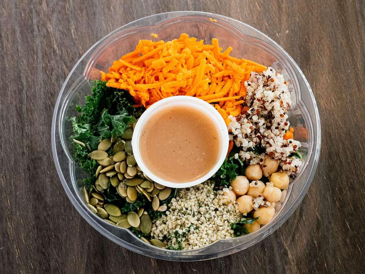 Quinoa & Kale Protein Salad