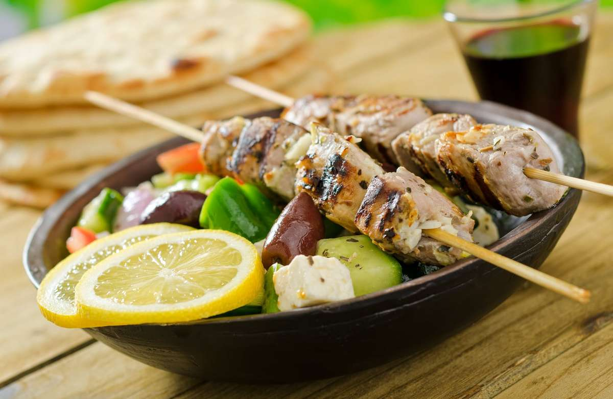 greek skewers