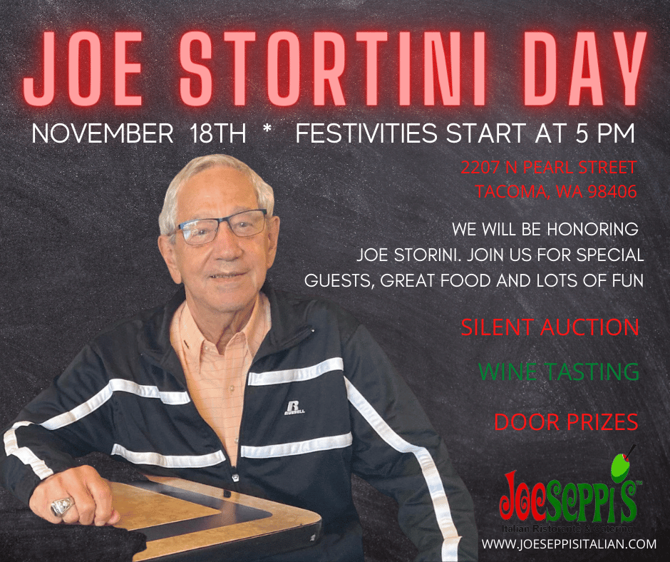 Joe Stortini Day at Joesesppis