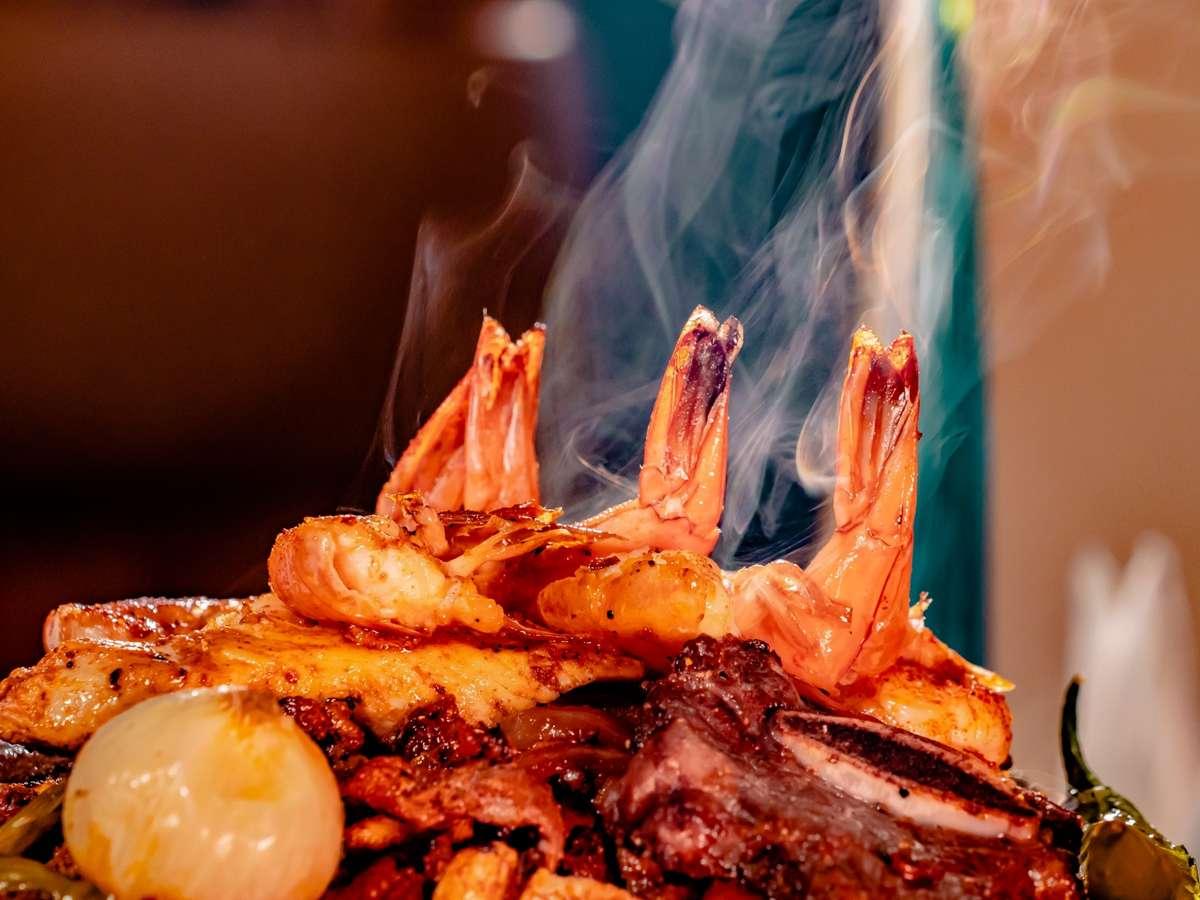 smoking shrimp