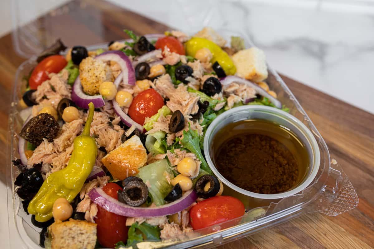 Italian Tuna Salad in Olive Oil