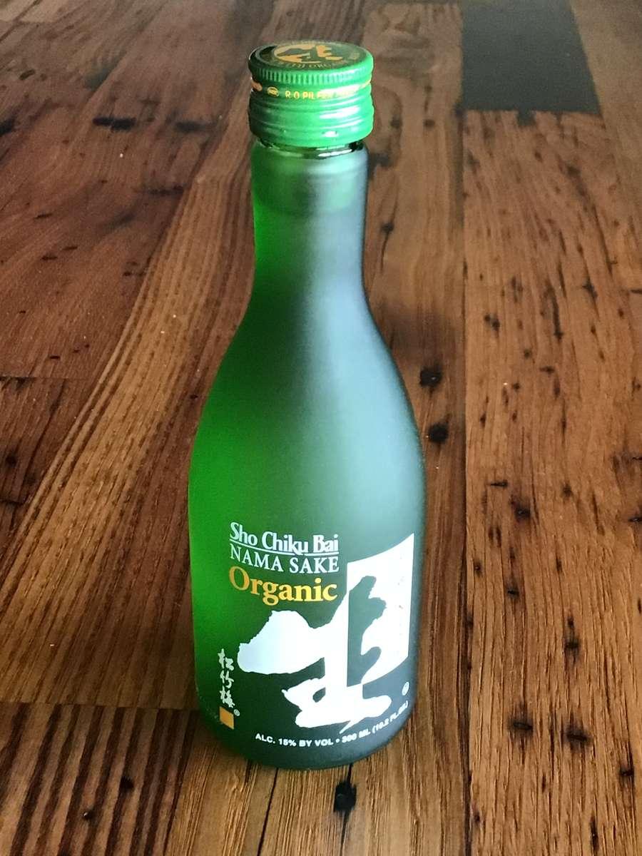 Organic Unpasteurized Nama Sake 300ml