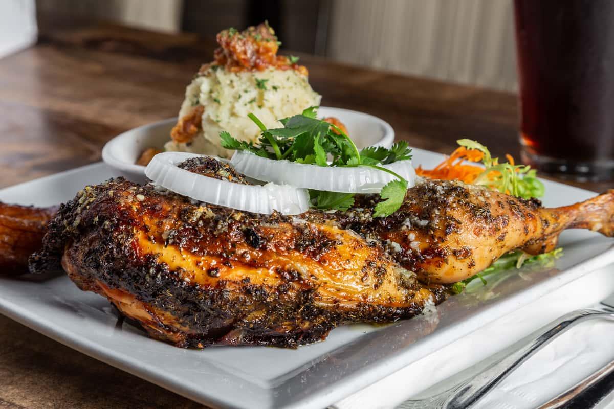 Chicken & Garlic Potato Mash (Chris' Special)