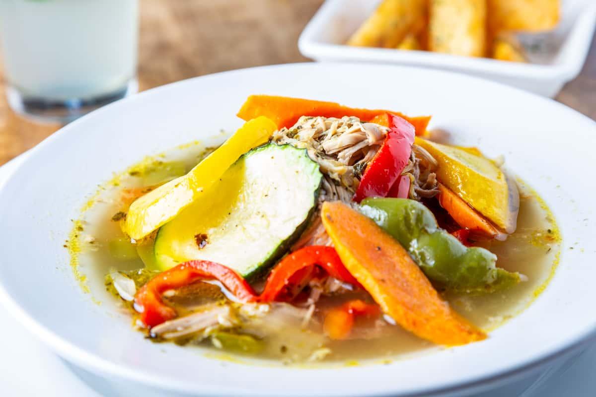 Signature Chicken & Vegetable Soup