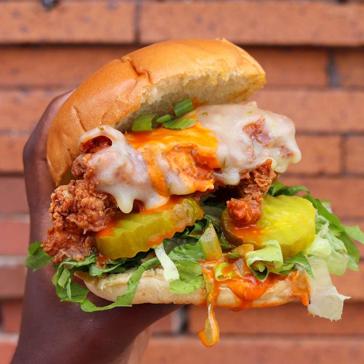 Crispy Buffalo Chicken Sandwich