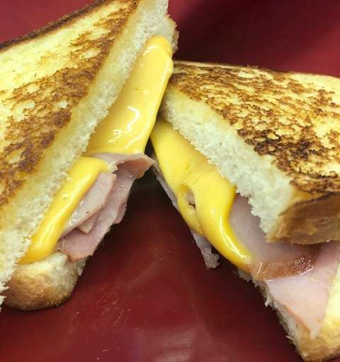 Grilled Ham and Cheese