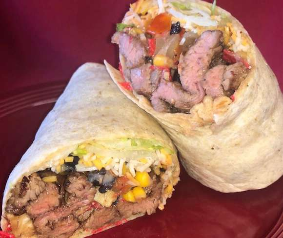 Southwest Steak Wrap