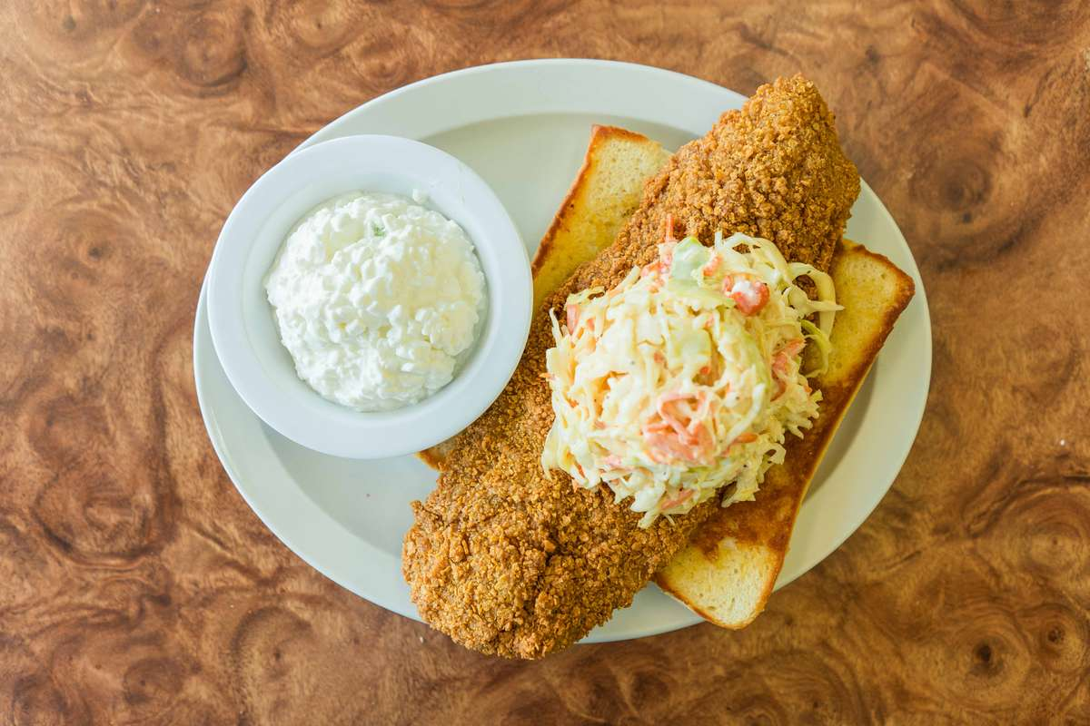 Crispy Catfish Sandwich