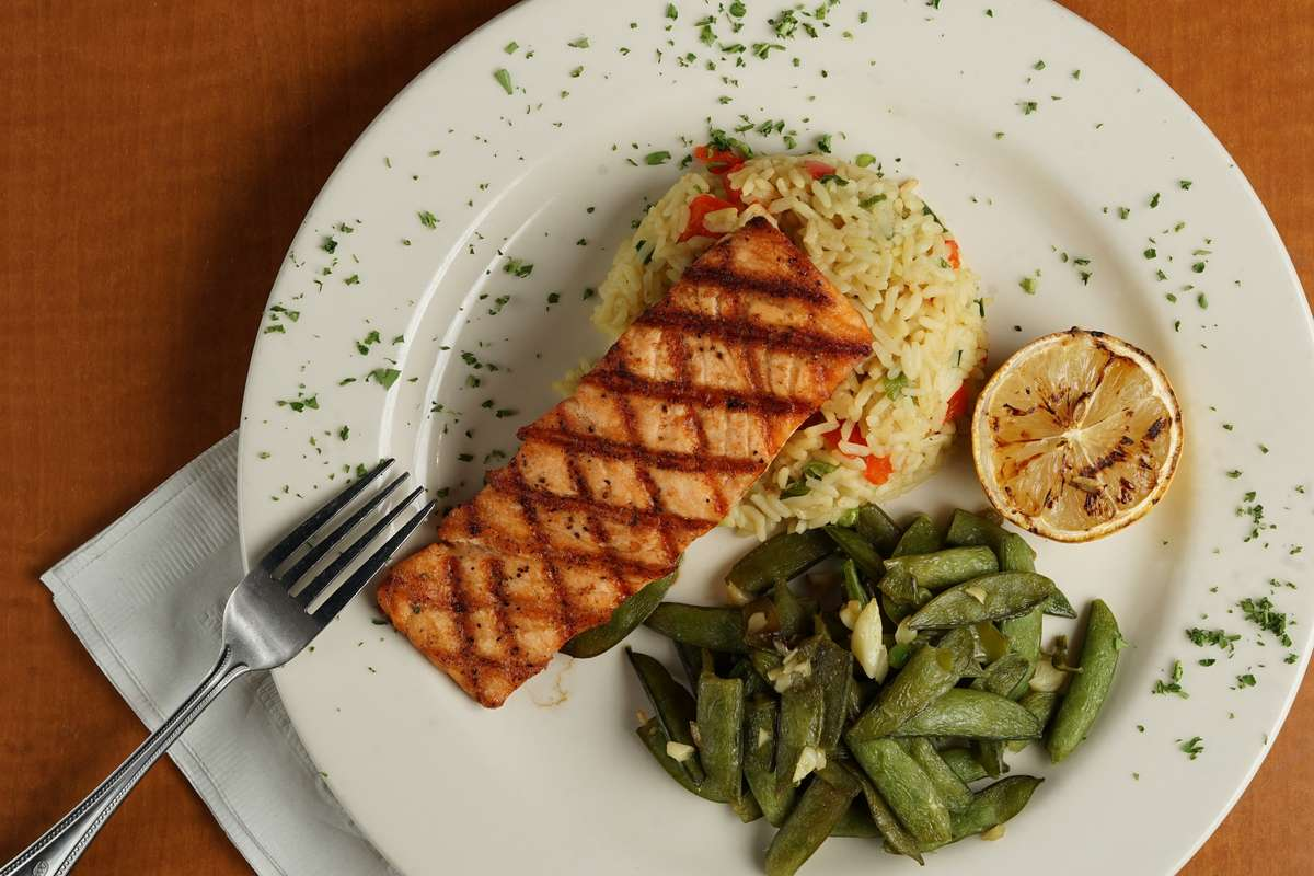 Flame-Grilled Salmon