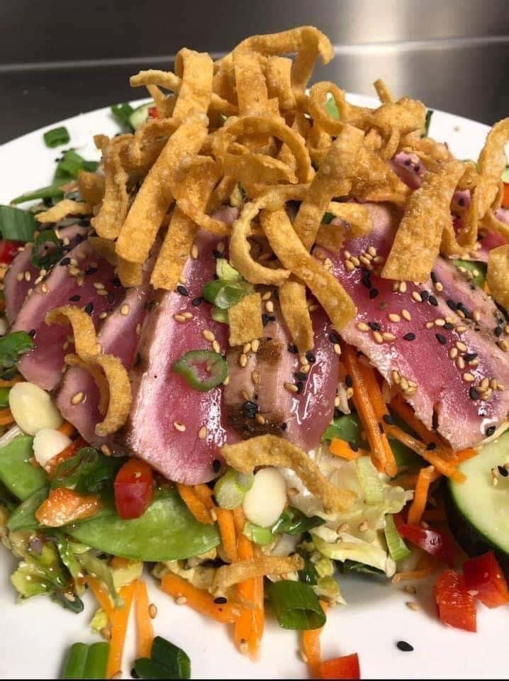 Asian Ahi Tuna Salad