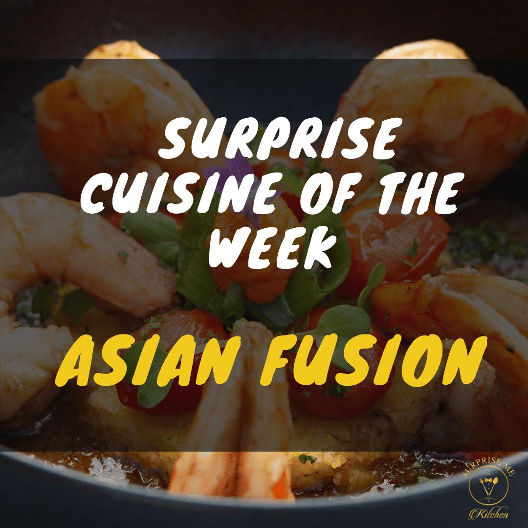 Cuisine Of The Week