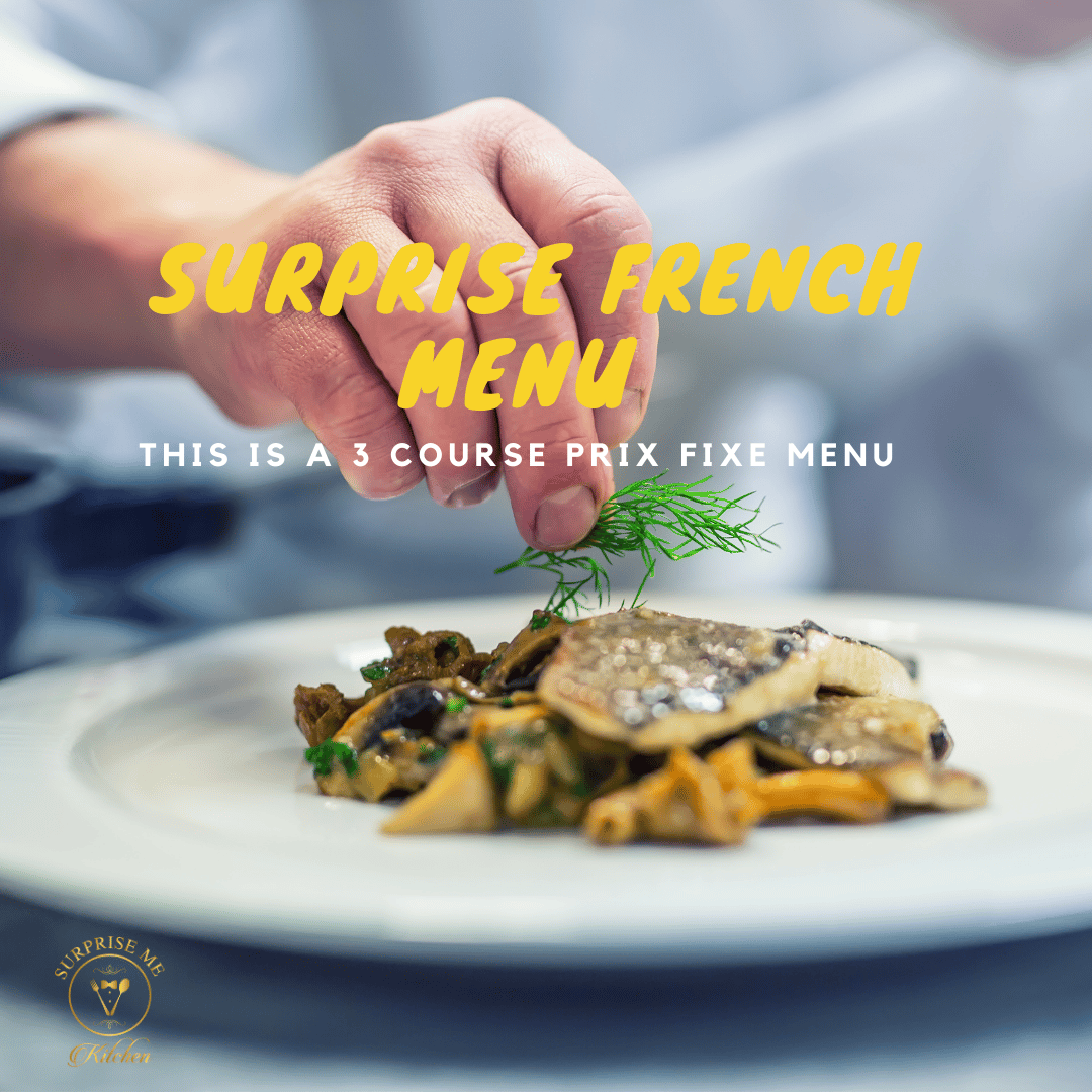 Surprise French Menu