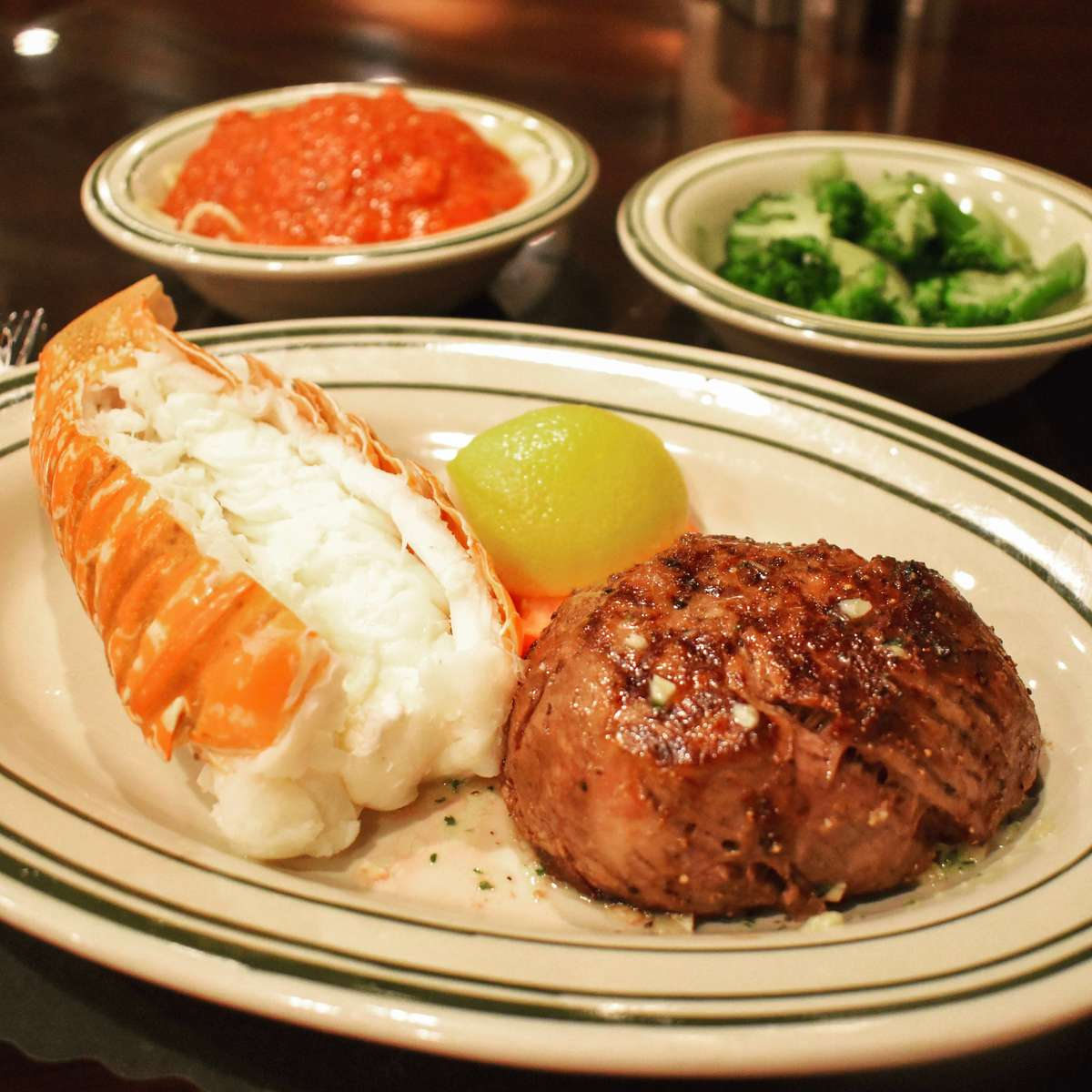 Surf & Turf - Lobster/Steak