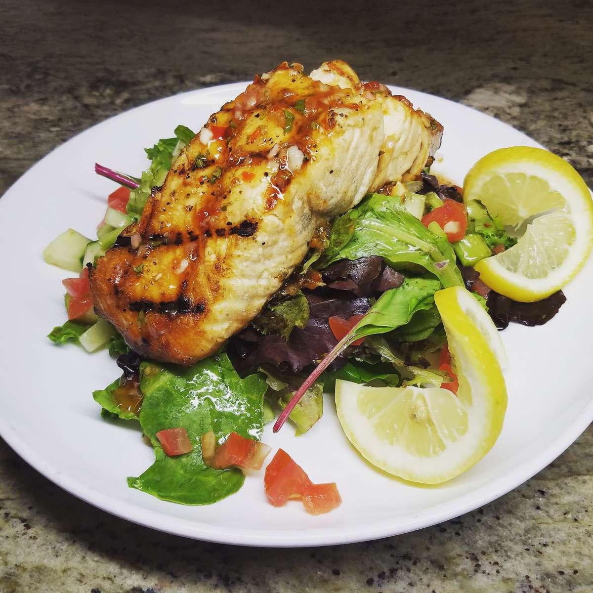 *Salmon Salad