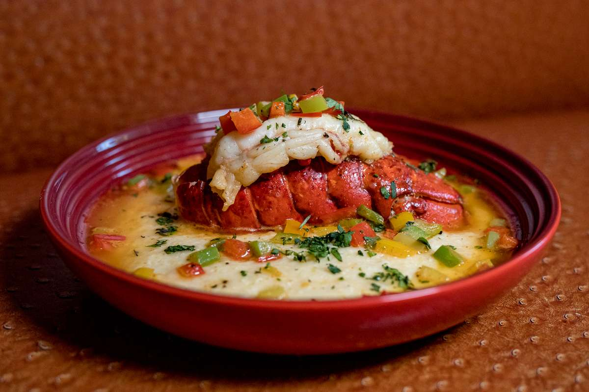 Lobster Tail & Grits