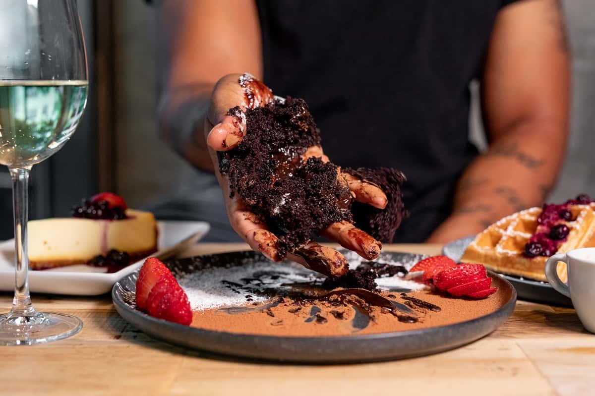 Crushed Cake