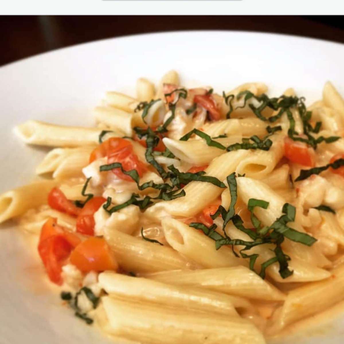 Penne Alla Vodka with Lobster