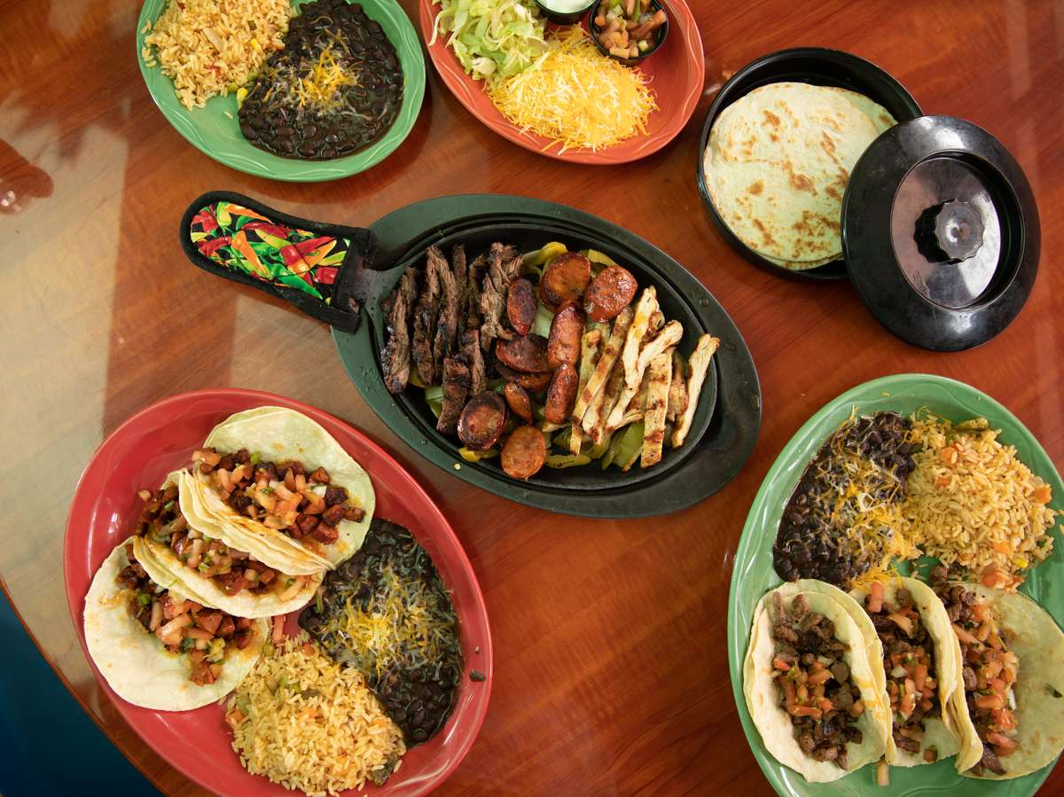 assorted mexican food and ingredients