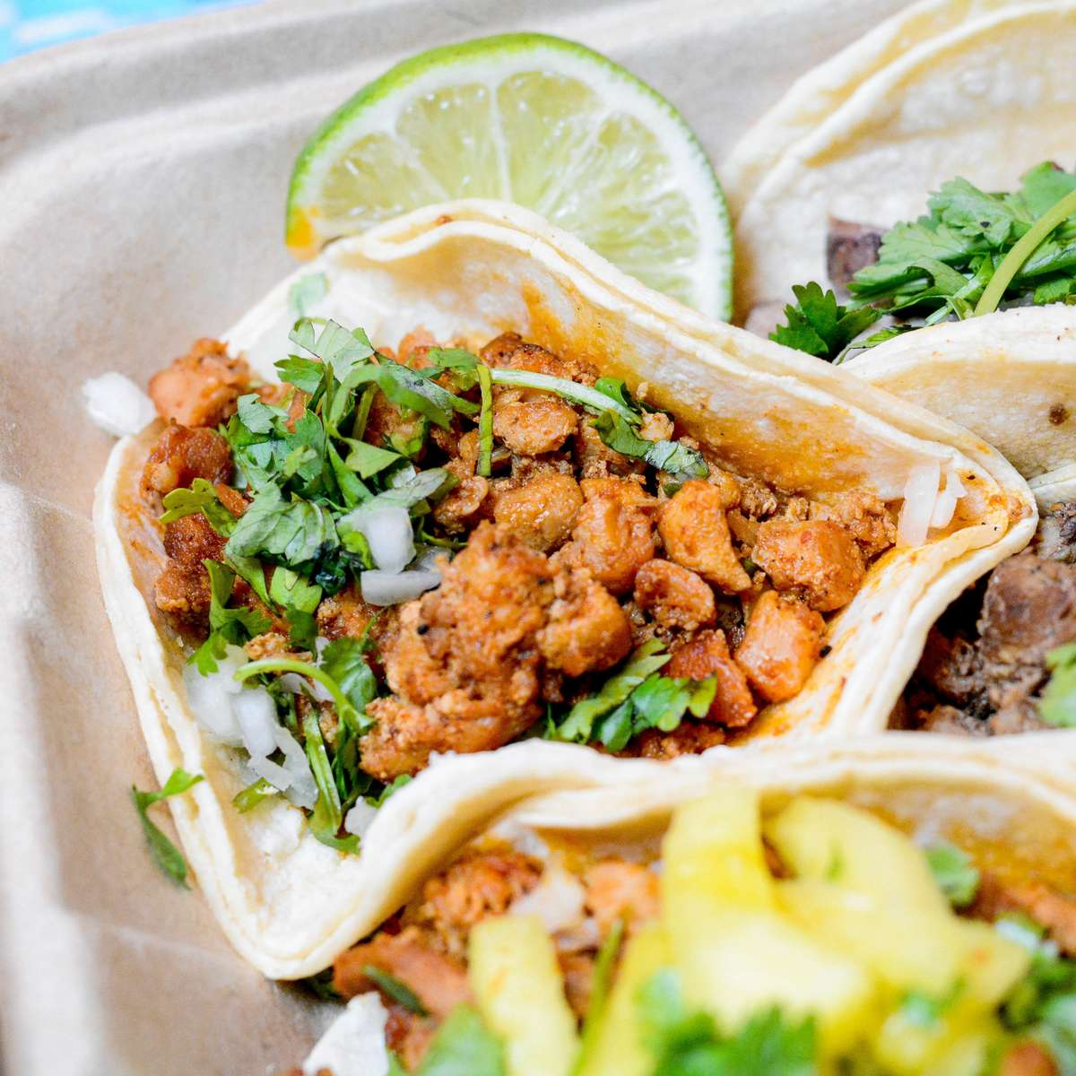 Chicken Adobo Street Taco